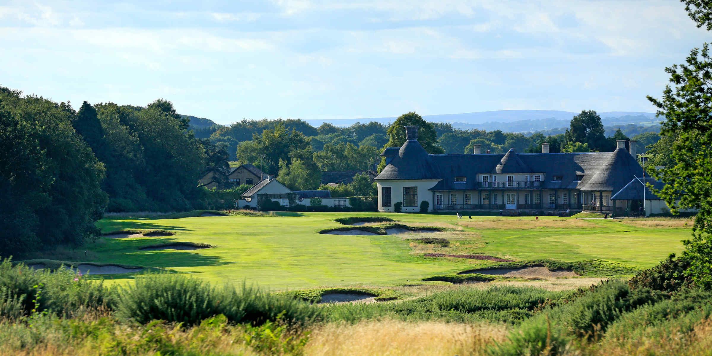 Alwoodley Golf Club 18th hole