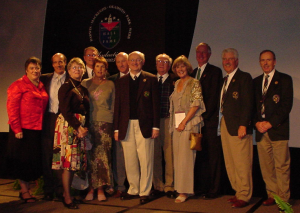 Induction Ceremony at World Golf Hall of Fame